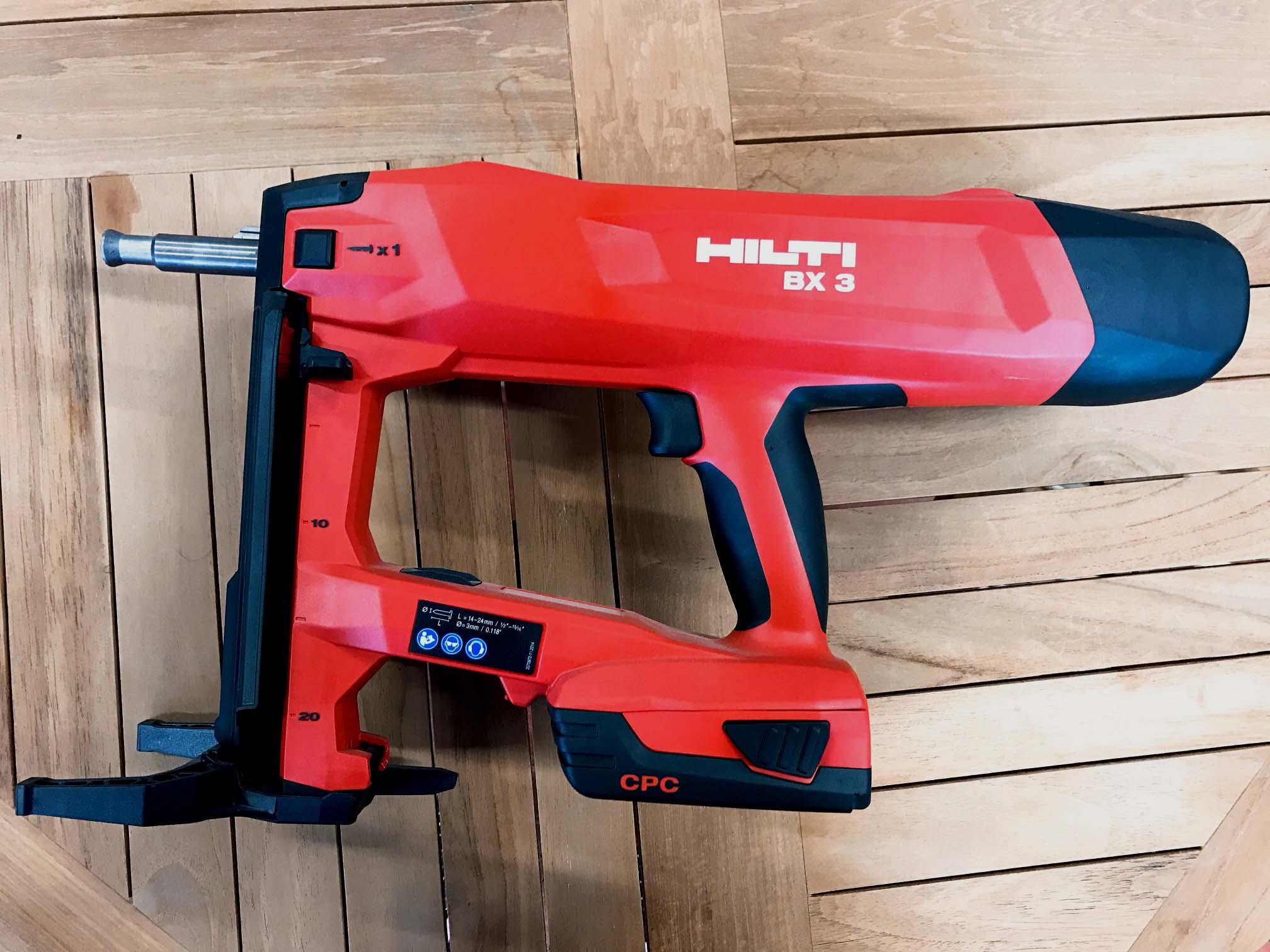 ヒルティ バッテリー式鋲打機BX3-3ME(B22)