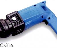 HBC-316 OGURA ベストセラーモデルの耐久性と使いやすいデザイン!電動油圧式鉄筋切断機(バーカッター)