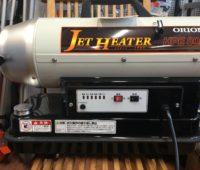 灯油でジェットヒーター! hpe80 オリオン